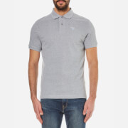 Barbour Men's Sports Polo Shirt - Grey Marl