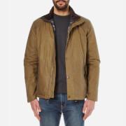 Barbour Mens Hilton Wax Jacket  Sand  XL