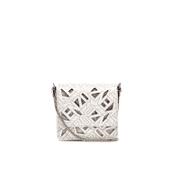 KENZO Women's Essentials Chainy Shoulder Bag - White