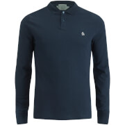 Original Penguin Men's Long Sleeve Polo Shirt - Sapphire
