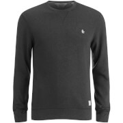 Original Penguin Men's Crew Neck Sweatshirt - True Black