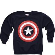 Sweat Homme - Enfant Captain America - Bleu Marine