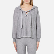 Wildfox Women's Hutton Hooded Sweatshirt - Heather Burnout