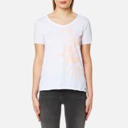 BOSS Orange Women's Vashirt T-Shirt - White