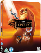 Der König der Löwen 3D (Inklusive 2D ) - Zavvi UK Exklusive Lentikular Steelbook Edition (The Disney Collection #32)