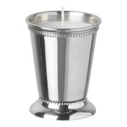 Parlane Steel Votive - Silver (9 x 7cm)