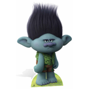 Trolls Branch the Survivalist Cutout