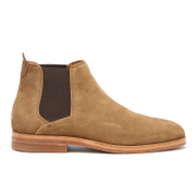 H Shoes by Hudson Men's Tonti Suede Chelsea Boots - Tobacco