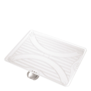 simplehuman Dual Direction Frosted Plastic Drip Tray