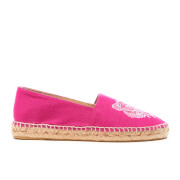 KENZO Women's Canvas Tiger Espadrilles - Deep Fuchsia