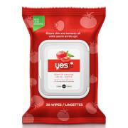 Купить Очищающие салфетки для комбинированной кожи с экстрактом томата yes to Tomatoes Blemish Clearing Facial Wipes (30 шт.)