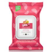 Купить Омолаживающие влажные салфетки для лица с экстрактом грейпфрута yes to Grapefruit Rejuvenating Facial Wipes (25 штук)