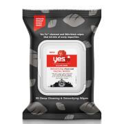 Купить Детокс-салфетки для лица с активированным углем и экстрактом томата yes to Tomatoes Detoxifying Charcoal Facial Wipes