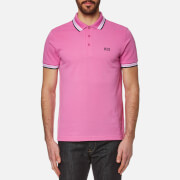 BOSS Green Men's Paddy Polo Shirt - Open Purple