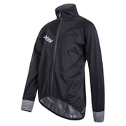 Santini Pioggia Dura Jacket - Black