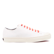 PS by Paul Smith Men's Colston Canvas Court Trainers - White Mono Lux