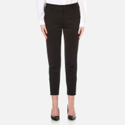 DKNY Womens Tailored Relaxed Pants  Black  UK 10US 6