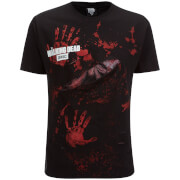 T-Shirt Homme Spiral Walking Dead Daryl All Infected -Noir