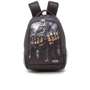 Spiral Game Over Back Pack With Laptop Pocket - Black