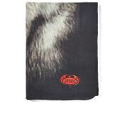 Spiral Bright Eyes Pug Life Fleece Blanket - Black