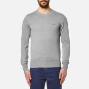 Vivienne Westwood MAN Men's Crew Neck Classic Knitted Jumper - Grey Melange