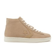 Converse Men's CONS Pro Leather '76 Mid Top Trainers - Vintage Khaki