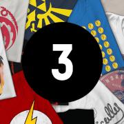 T-Shirt Geek Mystère - Lot de 3