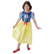 Disney Girls' Snow White Fancy Dress Costume