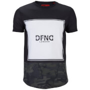DFND Men's Force Camo T-Shirt - Black