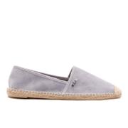 Lauren Ralph Lauren Women's Danita Suede Flat Espadrilles - Chalk Grey