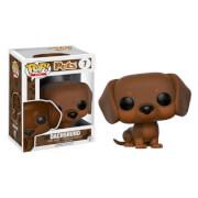 Pop! Pets Brown Dachshund Pop! Vinyl Figur