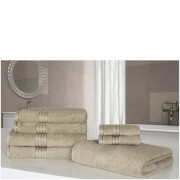 Highams 100% Egyptian Cotton 7 Piece Towel Bale (500gsm) - Natural