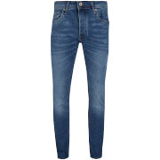 Jack & Jones Men's Original Tim Slim Fit Jeans - Mid Blue