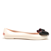 Ted Baker Women's Julivia Bow Front Ballet Pumps - Cream/Black