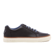 Ted Baker Men's Rouu Leather Cupsole Trainers - Black