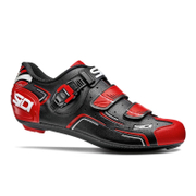 Sidi Level Cycling Shoes - Black/Red/White