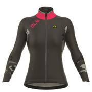 Alé Women's Long Sleeve Jersey - Red/Grey