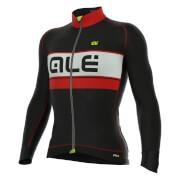 Alé PRR Graphics Bering Jersey - Black/Red