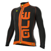 Alé PRR Arcobaleno Long Sleeve Jersey - Black/Orange