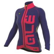 Alé Women's PRR Arcobaleno Winter Jacket - Blue/Red