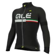 Alé PRR Tirreno Dolomiti Long Sleeve Jersey - Black/Grey