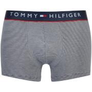Tommy Hilfiger Men's Cotton Flex Trunks - Navy White/Stripe - XL
