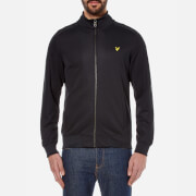 Lyle & Scott Men's Tricot Funnel Neck Jacket - True Black