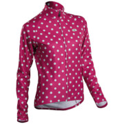 Sugoi Evolution Long Sleeve Jersey - Sangria Polka