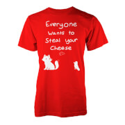 Everyone Wants To Steal Your Cheese T-Shirt - Red