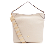 Vivienne Westwood Womens Belgravia Hobo Leather Bag  Beige