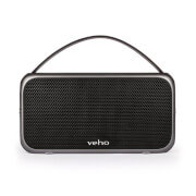 Veho M7 Retro Water Resistant Wireless Bluetooth Speaker  Black