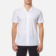 HUGO Men's Eepa Short Sleeve Shirt - White