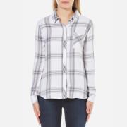 Rails Women's Hunter Shirt - White/Cinder