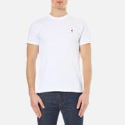 AMI Mens Heart Logo TShirt  White  M